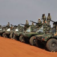 Soldats a Mali