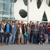 Alumnes del Departamen d'Edificació i obres