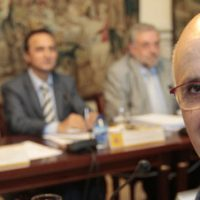 Reunió on s'aprova el relleu de Duran Lleida per Joana Ortega