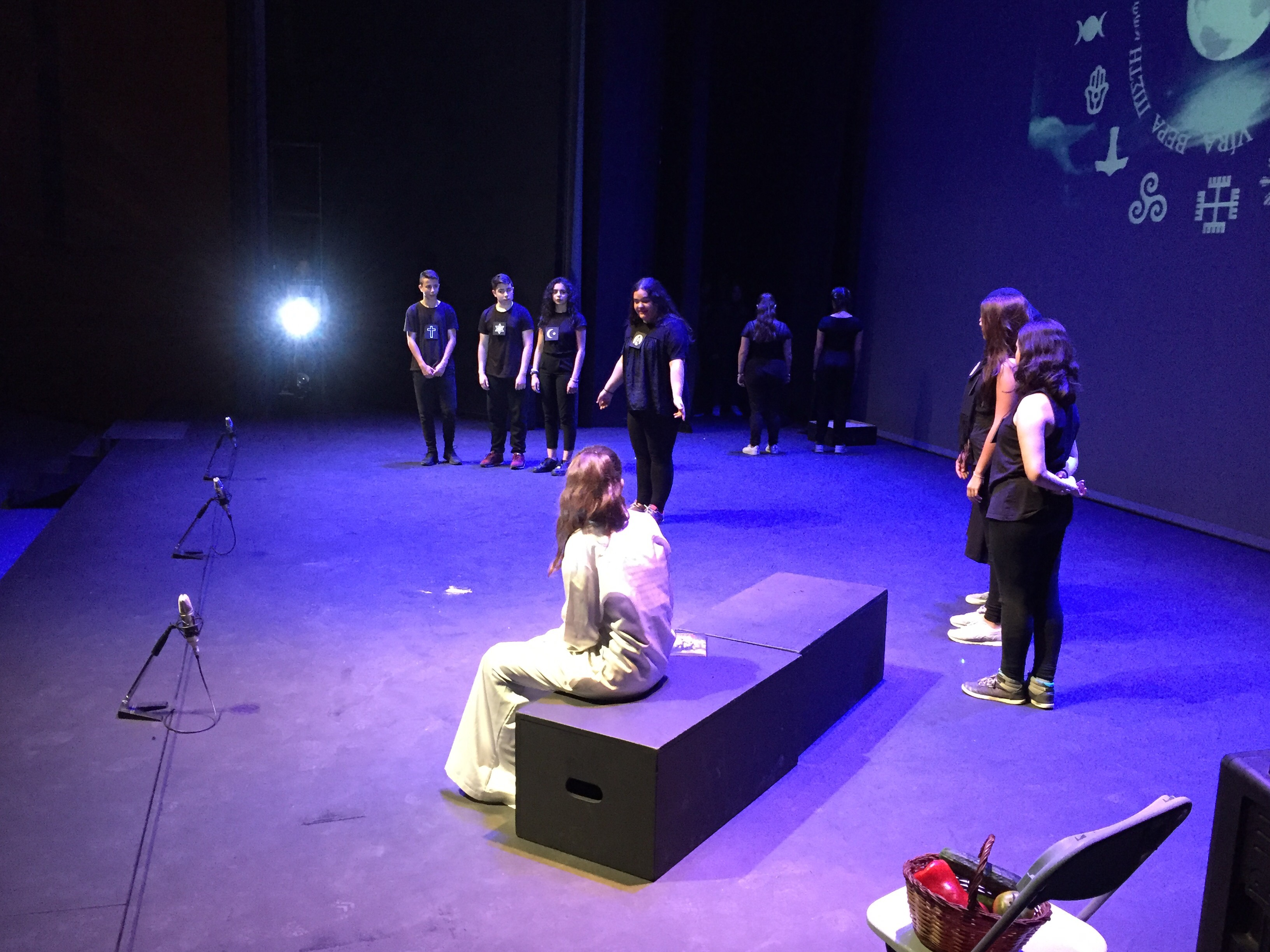 Mostra de teatre escolar al Monumental