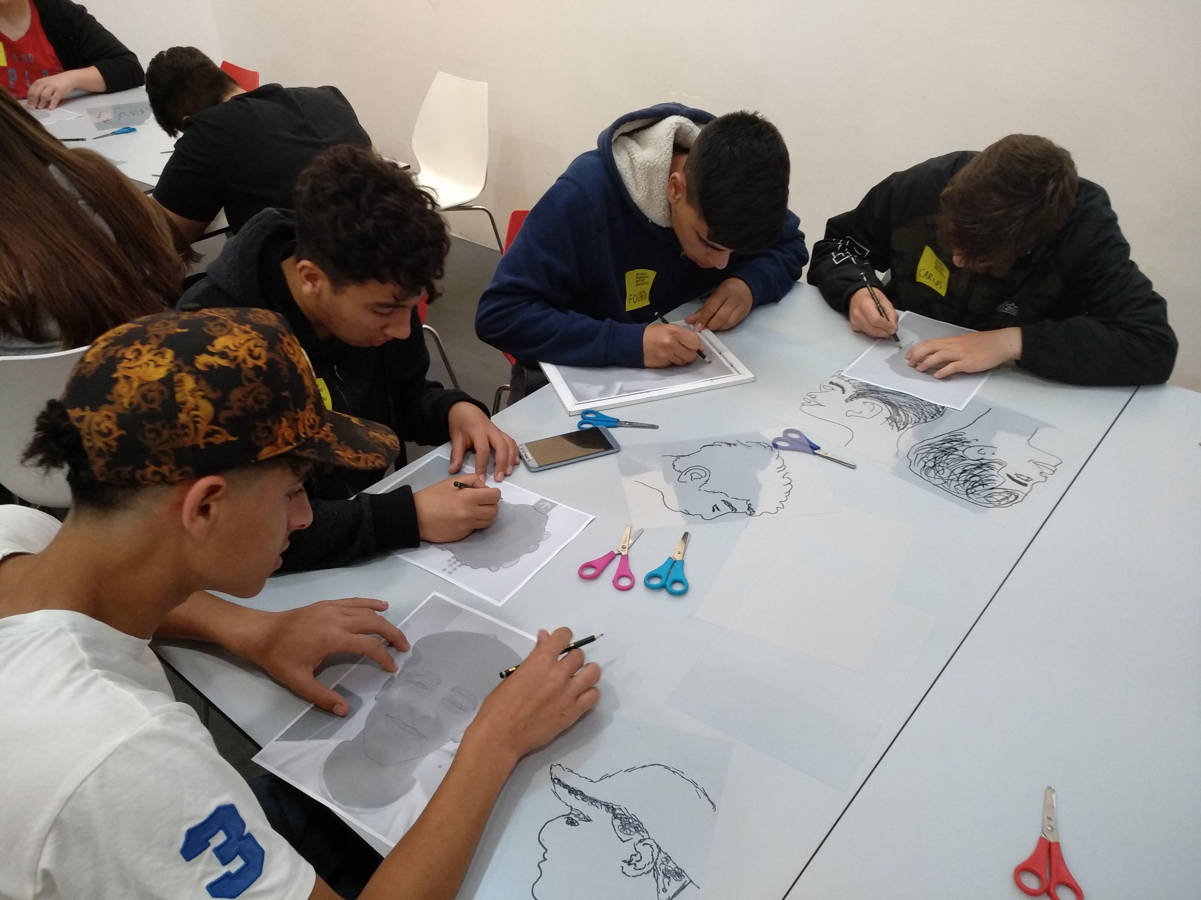 Els alumnes de 4t van anar al Museu Picasso