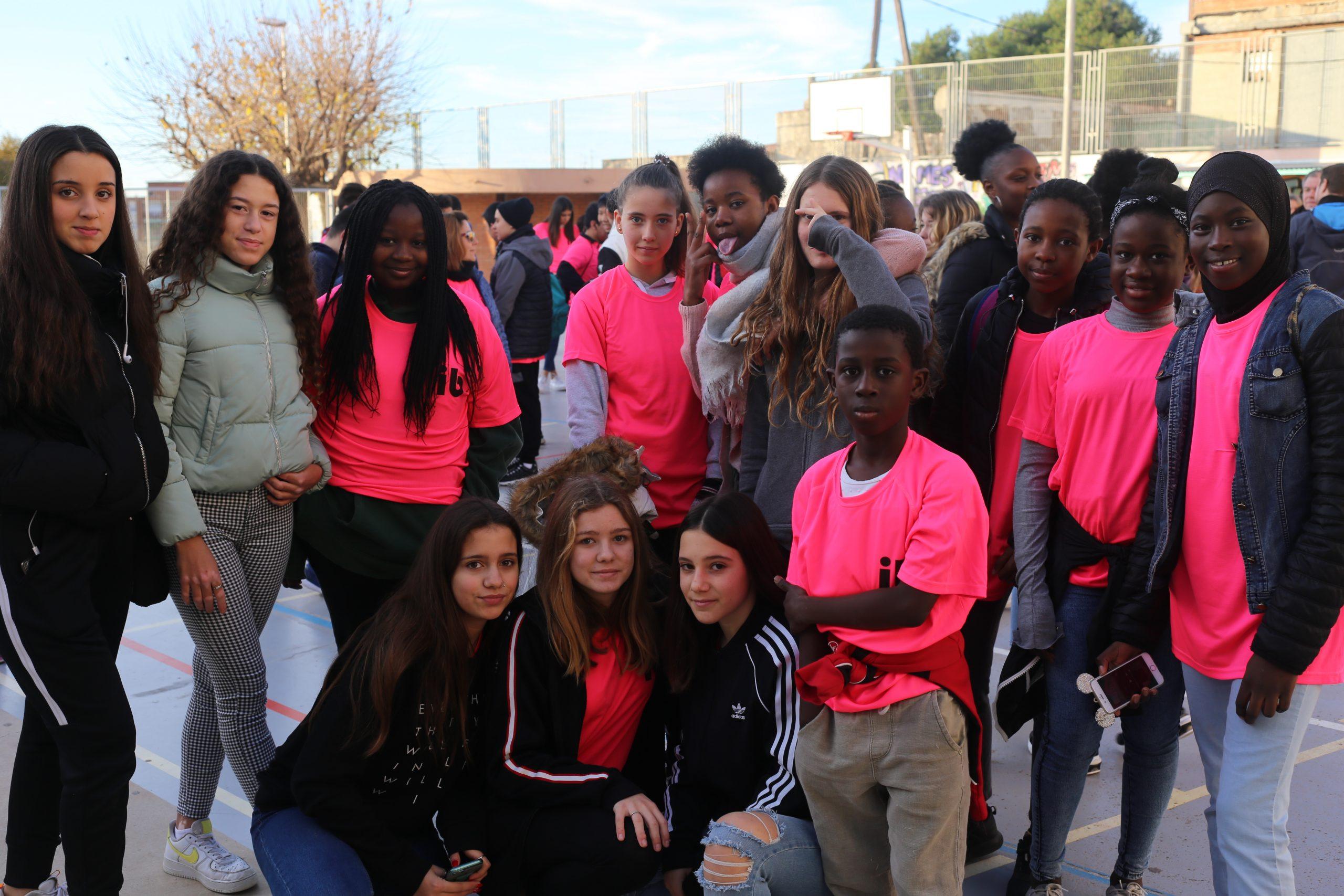 Molts alumnes van participar